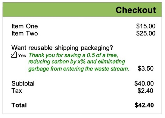 RePack Checkout sample
